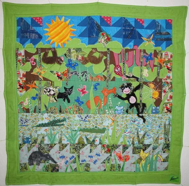 Fanthomastisch patchwork art babydecken fanthomastisch - Wandbehang patchwork ...